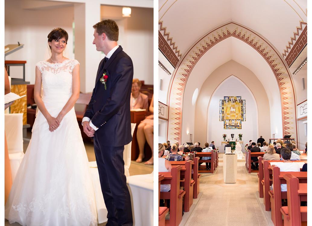 trouwfotografie tijdens ceremonie kerk